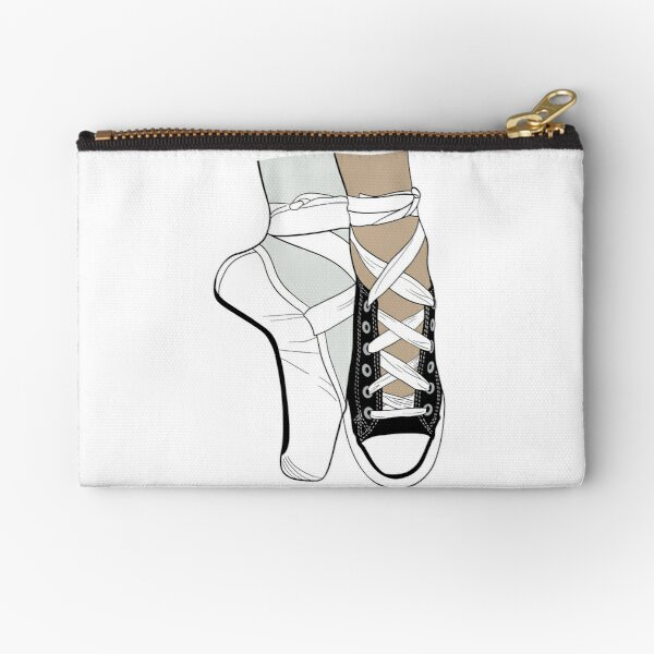 She was a punk AND she did ballet Zipper Pouch