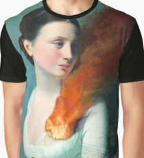 Portrait of a heart Graphic T-Shirt