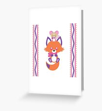 Cozy Critters Greeting Card