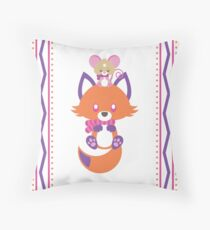 Cozy Critters Throw Pillow