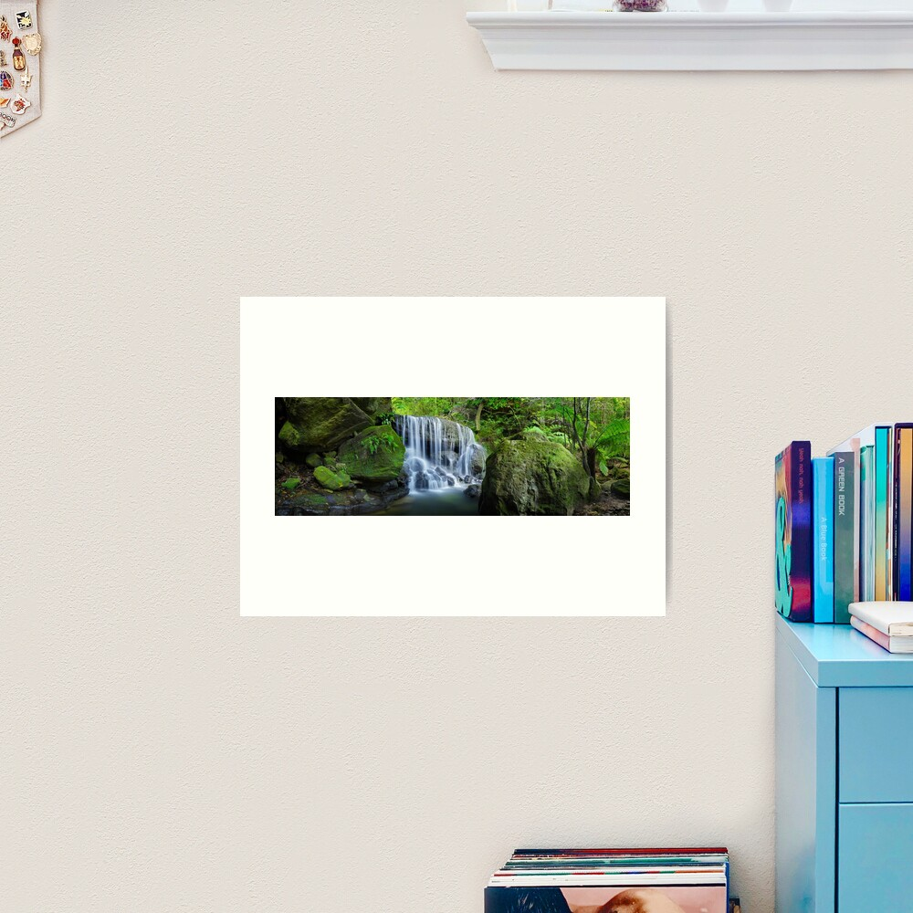 Weeping Rock, Blue Mountains. New South Wales, Australia Art Print