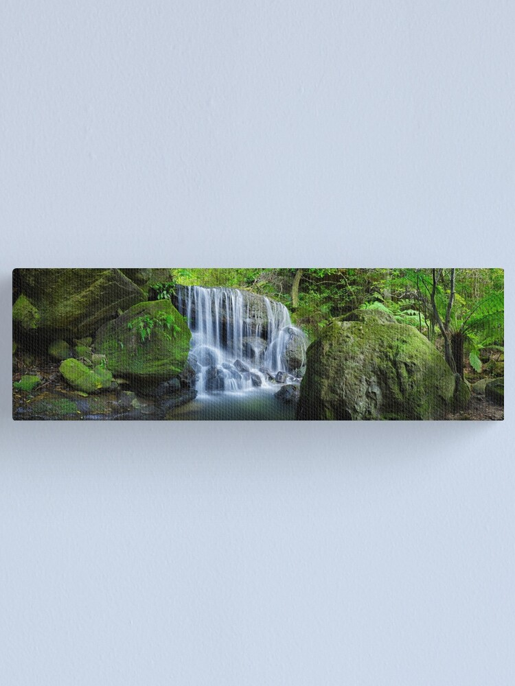 Alternate view of Weeping Rock, Blue Mountains. New South Wales, Australia Canvas Print