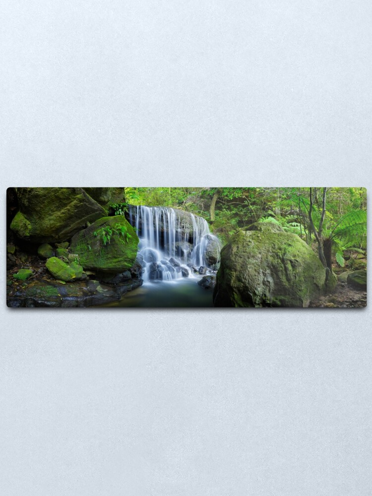 Alternate view of Weeping Rock, Blue Mountains. New South Wales, Australia Metal Print