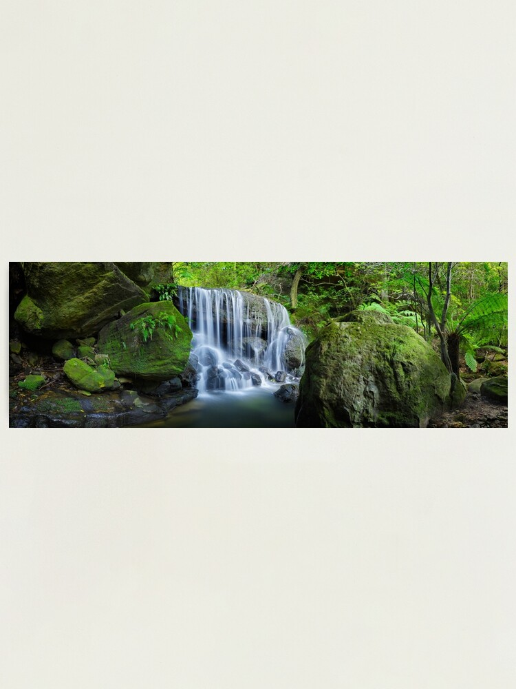 Alternate view of Weeping Rock, Blue Mountains. New South Wales, Australia Photographic Print