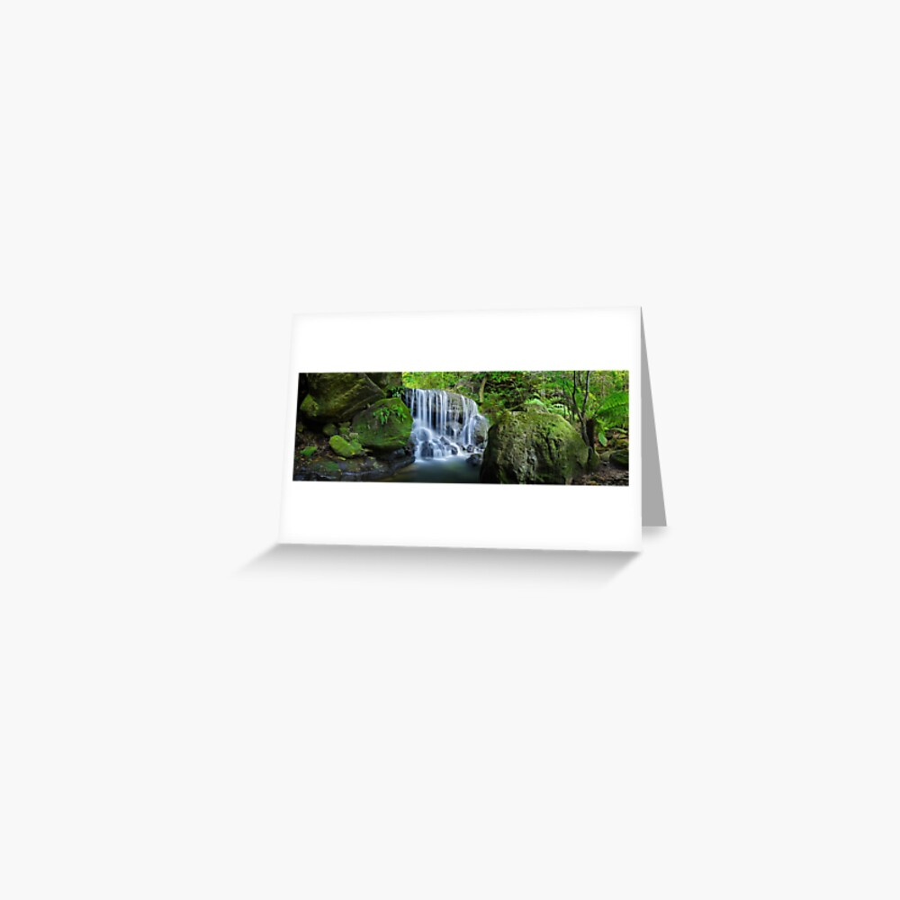 Weeping Rock, Blue Mountains. New South Wales, Australia Greeting Card
