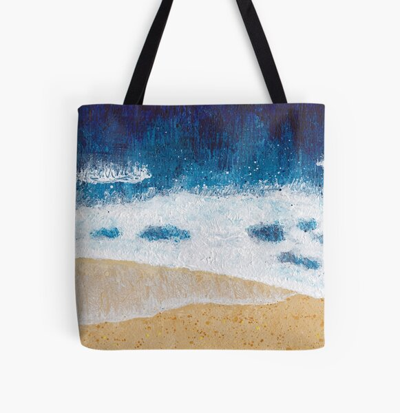 Aerial seascape 1 All Over Print Tote Bag