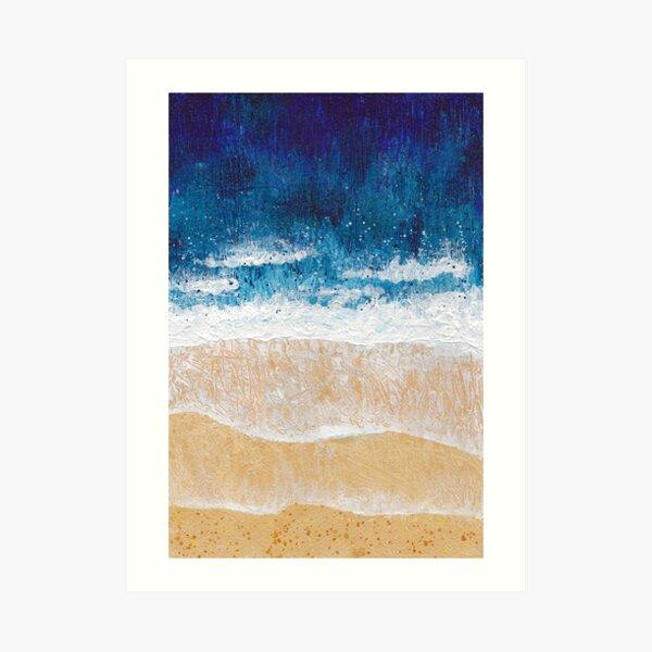 Aerial seascape 2 Art Print