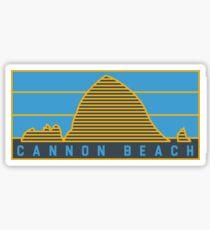 Cannon Beach, Oregon graphic! Sticker