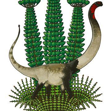 Mamenchisaurus by irimali