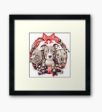 It's a Pit Bull Christmas Framed Print