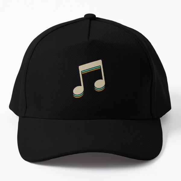 Music Note Baseball Cap