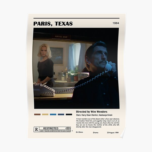 Paris Movie Poster Poster