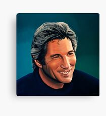 Richard Gere Painting Canvas Print
