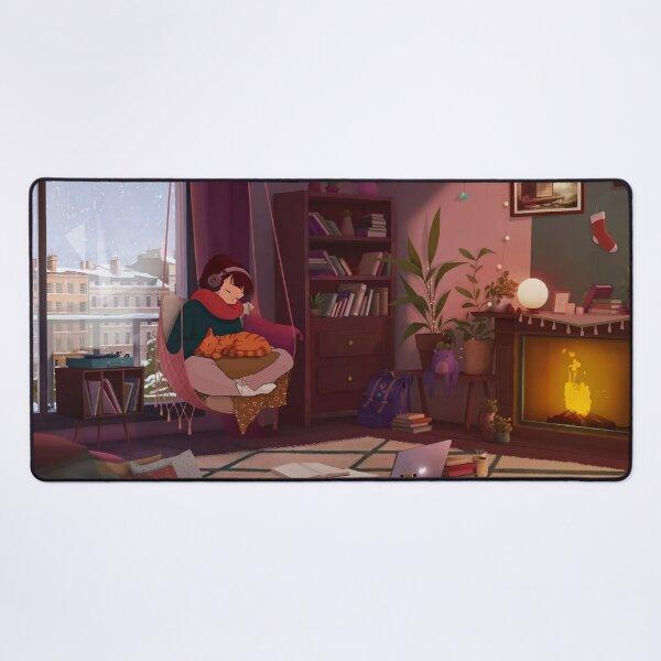 Cozy Winter Desk Mat