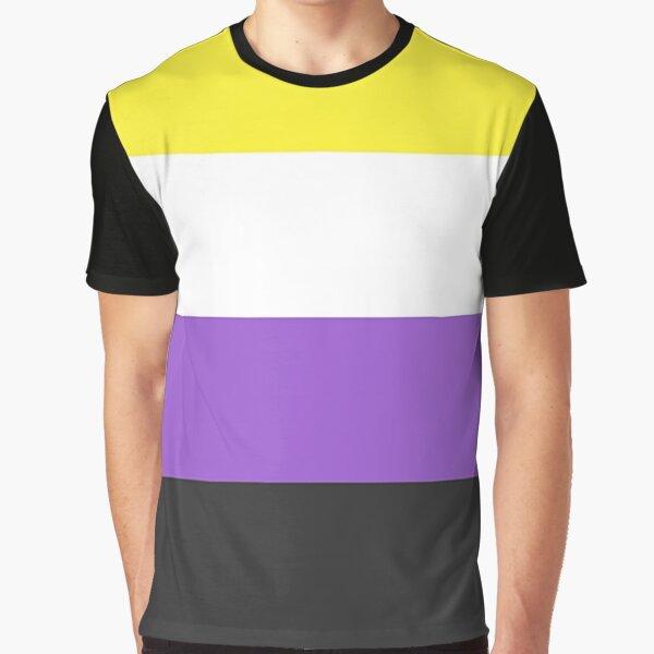 Nonbinary Flag Graphic T-Shirt