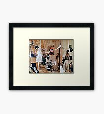 Diversity -  Collage Framed Print