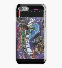 Turtles In Time! iPhone Case/Skin