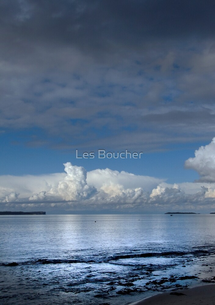 Still before the Storm. by Les Boucher