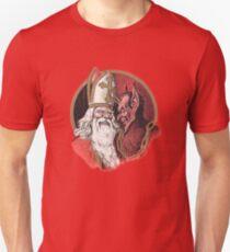 Krampus and Santa Christmas T-Shirt