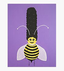 Beehive Betty Photographic Print