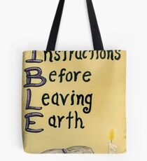 Meaning Of The Bible Tote Bag