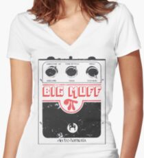 Big Muff Pi Women's Fitted V-Neck T-Shirt