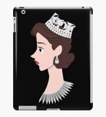 The Queen. The Crown. iPad Case/Skin