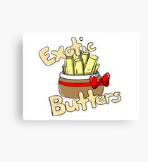 Exotic Butters (Five Nights at Freddy's SL) Canvas Print