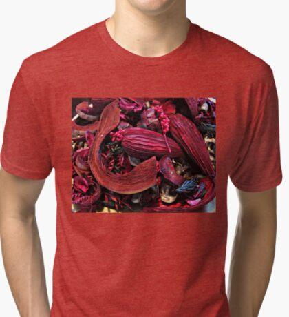 Colour Me Crimson! Pot Pourri Still Life Vintage T-Shirt