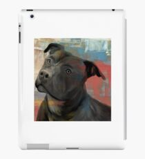 Pit Bull Piglet in Paint iPad Case/Skin