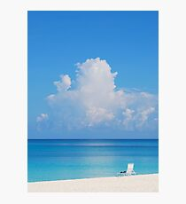Beautiful Beach In Grand Cayman Photographic Print