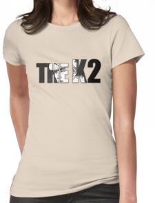 The K2 Lettering Womens Fitted T-Shirt