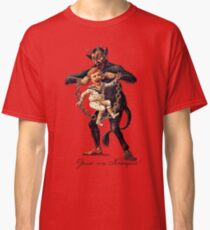 Gruss vom (Greetings From) Krampus Classic T-Shirt