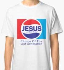 Jesus & Mary Chain - Lost Generation Pepsi Mashup Classic T-Shirt