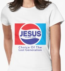 Jesus & Mary Chain - Lost Generation Pepsi Mashup Women's Fitted T-Shirt