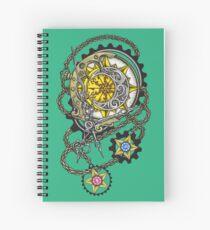 Astronomer's Compass  Spiral Notebook