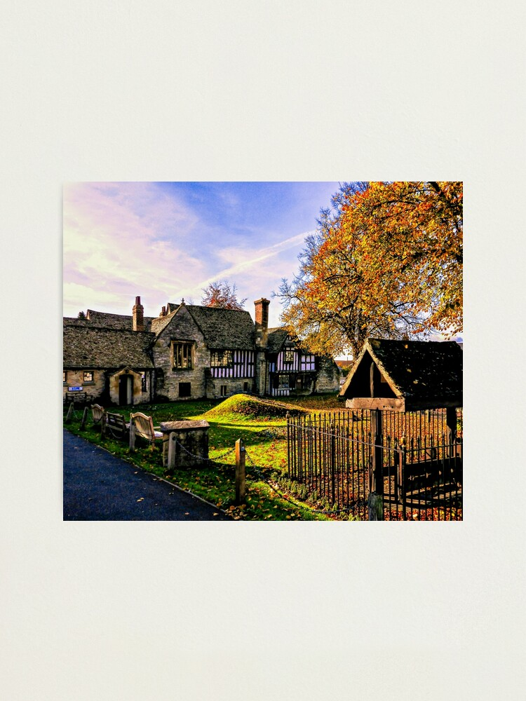Alternate view of Almonry in Autumn Photographic Print