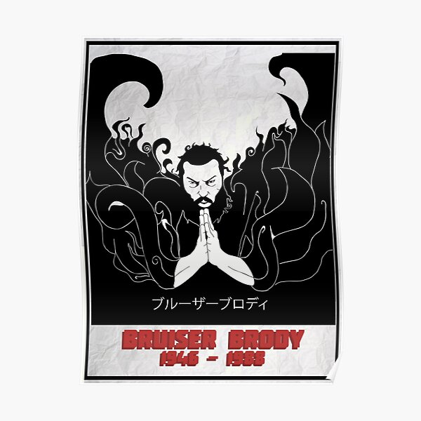 The Legendary Bruiser Brody Poster