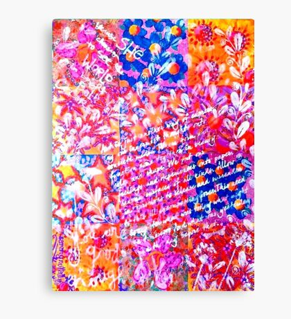 Because Flowers Canvas Print