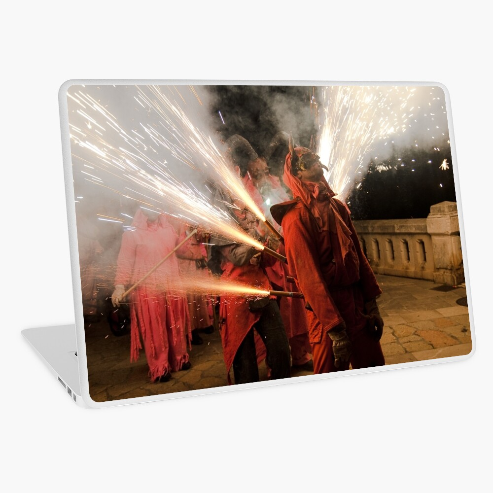 Light me up Laptop Skin