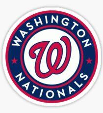 Washington Nationals Sticker