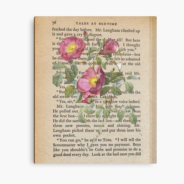 Pressed flower Canvas Print