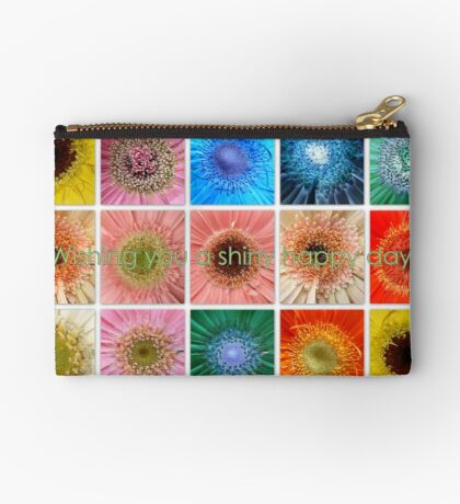 Have a shiny happy day Studio Pouch