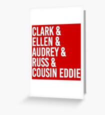 Cousin Eddie Greeting Cards Redbubble