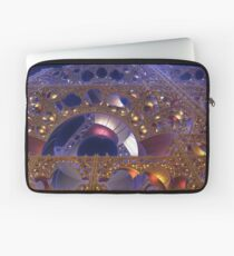 Construction Site at Night Laptop Sleeve
