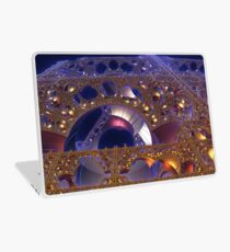 Construction Site at Night Laptop Skin