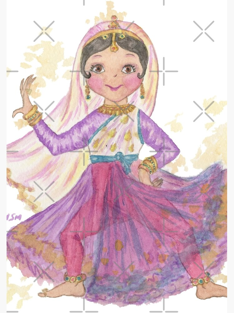 South Asian Dancing Doll by HajraMeeks