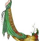 Art Deco Femme Fatale by HAJRA MEEKS