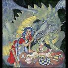 Princess and Dragon by HAJRA MEEKS