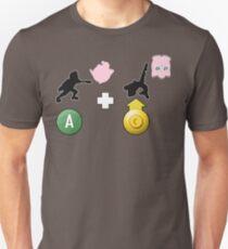 Melee minimalist jab + upsmash T-Shirt